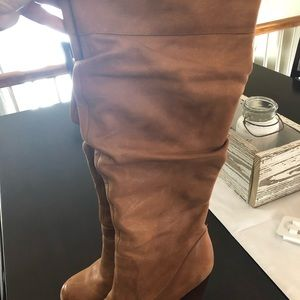 Jessica Simpson tall leather boots 👢